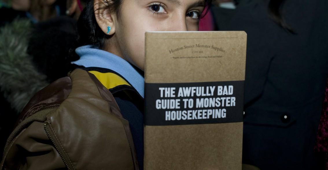 how monsters keep house (photo: Miriam Douglas)