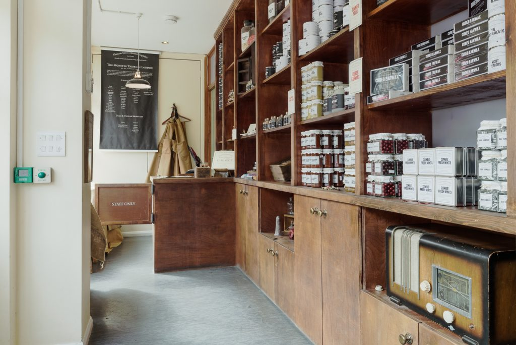 Interior of Hoxton Street Monster Supplies
