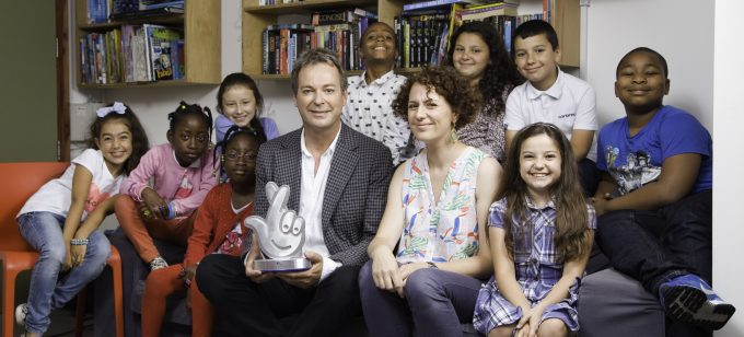 Julian Clary awards our young writers the National Lottery Award