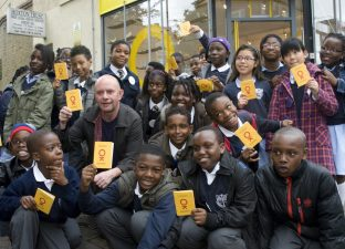 Children's Republic launch with Nick Hornby