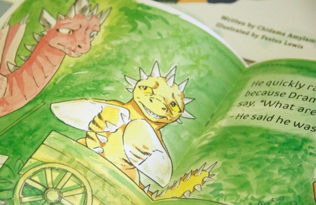 Illustration from Dragon Park