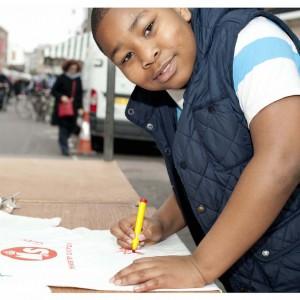 Nmeso, Ministry of Stories writer, aged 10  (Image: Miriam Douglas)