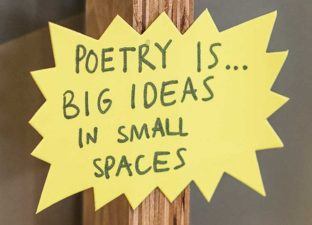 poetry is big ideas in small spaces