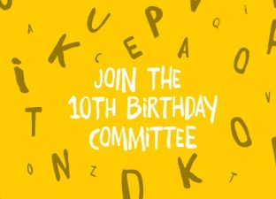 Join our 10th Birthday Committee