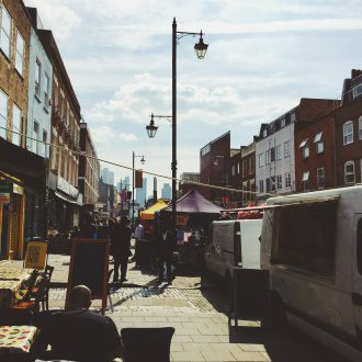 Hoxton Street, east London